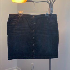 Button front Jean skirt 👗